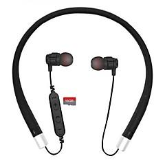 お買い得  ヘッドセット、ヘッドホン-Cwxuan ネックバンド ワイヤレス ヘッドホン 平面磁気 プラスチック 携帯電話 イヤホン マグネットアトラクション / ボリュームコントロール付き / マイク付き ヘッドセット