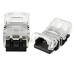 billige LED-stribelys-ZDM® 2stk Elektrisk stik Plast Strip Light tilbehør