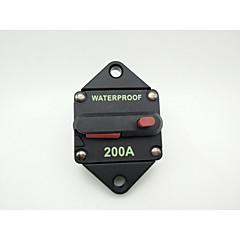 preiswerte Gadgets & Autoteile-hochwertig wasserdicht! nanual Reset 200 Ampere Leistungsschalter (aus Taiwan) für Lkw-Busse rvs Schiffe Batterieladegeräte und