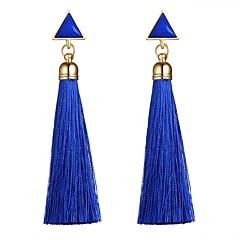 abordables Bijoux pour Femme-Femme Glands Boucles d'oreille goutte - Gland, Mode Noir / Rouge / Bleu Pour Cadeau Quotidien