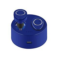 Χαμηλού Κόστους Ακουστικά κεφαλής και ψείρες-TWS-F1 Στο αυτί Ασύρματη Ακουστικά Κεφαλής Πιεζοηλεκτρισμός Πλαστική ύλη Οδήγηση Ακουστικά Με το κουτί φόρτισης Με Μικρόφωνο Ακουστικά