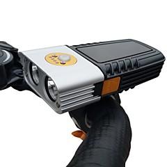 お買い得  カーライト-自転車headlightsuper明るい防水バイクのフロントlightusb 1000ルーメンロードバイクヘッドライトは、簡単にインストールすることができますサイクリング通勤用led懐中電灯