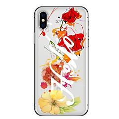 Недорогие Кейсы для iPhone X-Кейс для Назначение Apple iPhone X iPhone 8 Plus С узором Кейс на заднюю панель Мультипликация Мягкий ТПУ для iPhone X iPhone 8 Pluss