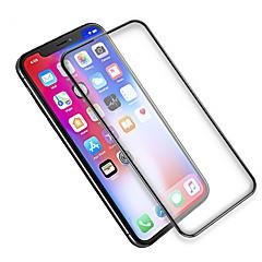 Недорогие Защитные пленки для iPhone X-Защитная плёнка для экрана Apple для iPhone X Закаленное стекло 1 ед. Защитная пленка на всё устройство Антибликовое покрытие Против