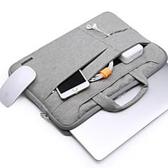 """abordables Accesorios para MacBook-Bolsos de Mano para Un Color Color sólido Poliéster Material Nuevo MacBook Pro 13"""" MacBook Air 13 Pulgadas MacBook Pro 13 Pulgadas"""