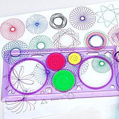 お買い得  デッサンのおもちゃ-お絵描きタブレット おもちゃ 長方形 ガーデンテーマ ペインティング 親子インタラクション 新デザイン ソフトプラスチック 男の子用 女の子用 1 小品
