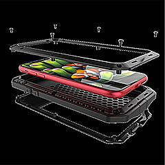 Недорогие Кейсы для iPhone 6-Кейс для Назначение Apple iPhone X iPhone 8 Защита от удара Чехол броня Твердый Металл для iPhone X iPhone 8 Pluss iPhone 8 iPhone 7 Plus