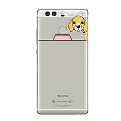 お買い得  Huawei Pシリーズケース/ カバー-ケース 用途 Huawei社P9 Huawei社P9ライト Huawei社P8 Huawei Huawei社P9プラス Huawei社P8ライト P9 P10 クリア パターン バックカバー 犬 ソフト TPU のために P10 Plus P10 Lite P10