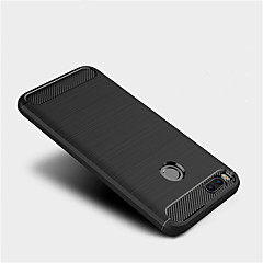 Недорогие Чехлы и кейсы для Xiaomi-Кейс для Назначение Xiaomi Mi 5C Mi 5X Матовое Кейс на заднюю панель Сплошной цвет Мягкий ТПУ для Xiaomi Mi Max 2 Mi 6 Plus Xiaomi Mi 6
