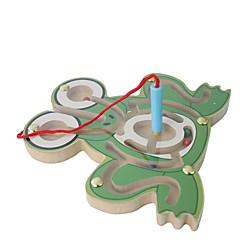 abordables Puzzle Juguetes-Laberintos magnéticos Tema Clásico Alivia ADD, ADHD, Ansiedad, Autismo Juguetes de oficina Magnética Interacción padre-hijo De madera