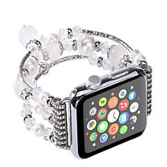 Χαμηλού Κόστους Μπρασελέ για ρολόγια Apple-Παρακολουθήστε Band για Apple Watch Series 3 / 2 / 1 Apple Σχεδιασμός κοσμημάτων Κεραμικό Λουράκι Καρπού