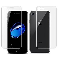 Недорогие Защитные пленки для iPhone 7-Защитная плёнка для экрана Apple для iPhone 7 TPG Hydrogel 2 штs Защитная пленка для экрана и задней панели Самозаживление 3D