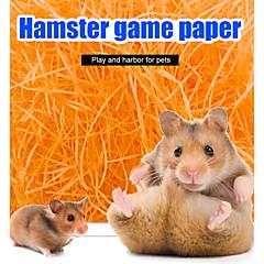 お買い得  小動物用アクセサリー-ペーパー ゲーミング クリーニング Brown レッド グリーン ブルー ピンク