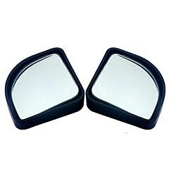 voordelige Auto-onderdelen-2 stks / partij auto-accessoires kleine ronde spiegel auto achteruitkijkspiegel dodehoek groothoek lens 360 graden rotatie verstelbare