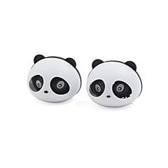 abordables Ambientadores-2 piezas de panda en forma de ambientador de aire del coche w dos clips