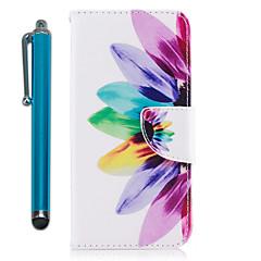 Χαμηλού Κόστους Galaxy S6 Edge Θήκες / Καλύμματα-tok Για Samsung Galaxy S9 S9 Plus Θήκη καρτών Πορτοφόλι με βάση στήριξης Ανοιγόμενη Μαγνητική Πλήρης Θήκη Λουλούδι Σκληρή PU δέρμα για S9