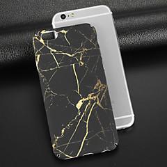 Недорогие Кейсы для iPhone 6-Кейс для Назначение Apple iPhone X iPhone 8 Матовое С узором Кейс на заднюю панель Мрамор Твердый ПК для iPhone X iPhone 8 Pluss iPhone 8