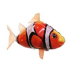 abordables dispositivos que vuelan-Tiburón de radiocontrol Animal por control remoto Tiburón volador Pez payaso Inflable Movimiento realista Nadador de aire 1 pcs Chico Chica Juguet Regalo