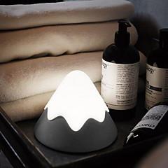 お買い得  LED アイデアライト-1個 LEDナイトライト Cold White 内蔵リチウム電池駆動 充電式 ベッドサイド USBポート付き