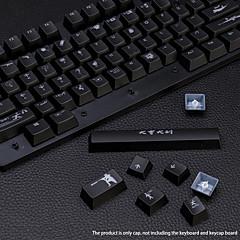 abordables Accesorios-Ajazz pollo teclados mecánicos keycap personalidad ligera personalización jedi survival machinecap especial