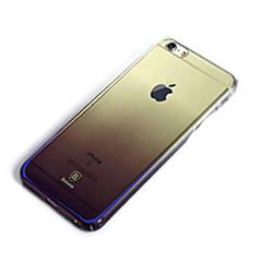 Недорогие Кейсы для iPhone-Кейс для Назначение Apple iPhone 6 Plus Защита от удара Покрытие Кейс на заднюю панель Сплошной цвет Твердый пластик для iPhone 6 Plus