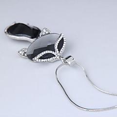 preiswerte Halsketten-Damen Lang Anhängerketten - Fuchs Europäisch, Modisch Grau Modische Halsketten Schmuck Für Party