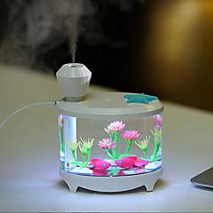お買い得  LED アイデアライト-1個 LEDナイトライト USB Port 防水 / USBポート付き / 加湿