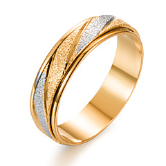 cheap Rings-Men's Women's Band Ring Gold Gold Plated Circle Fashion Gift Gift Valentine Costume Jewelry