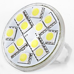 preiswerte LED-Birnen-SENCART 1pc 5W 160lm MR11 LED Doppel-Pin Leuchten MR11 12 LED-Perlen SMD 5060 Dekorativ Warmes Weiß / Weiß 12V / RoHs