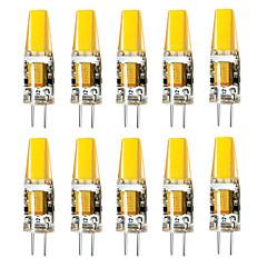 お買い得  LED 電球-BRELONG® 10個 3W 800lm G4 LED2本ピン電球 1 LEDビーズ 温白色 ホワイト