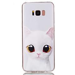 halpa Galaxy S6 Edge kotelot / kuoret-Etui Käyttötarkoitus Samsung Galaxy S8 Plus S8 Kuvio Takakuori Kissa Pehmeä TPU varten S8 Plus S8 S7 edge S7 S6 edge plus S6 edge S6 S5
