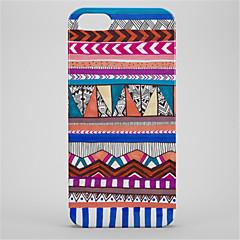 Недорогие Кейсы для iPhone 6 Plus-Кейс для Назначение Apple iPhone 6s iPhone 7 Plus С узором Кейс на заднюю панель Геометрический рисунок Твердый ПК для iPhone 7 Plus