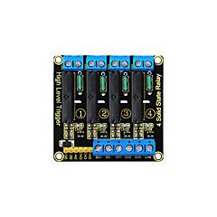 abordables Relés-Módulo de relés de estado sólido keyestudio de cuatro canales para Arduino