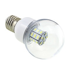 cheap LED Bulbs-4W 3000-3500 lm E26/E27 LED Globe Bulbs G60 27 leds SMD 5730 Warm White DC 24V AC 24V AC 12V DC 12V