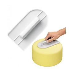 voordelige -2pcs Nieuwigheid Feesten Cake Kunststoffen Hoge kwaliteit Creatief Baking Tool Dessert gereedschap