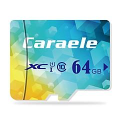 abordables Tarjetas de Memoria-Caraele 64GB Tarjeta TF tarjeta Micro SD tarjeta de memoria Clase 10 CA-1
