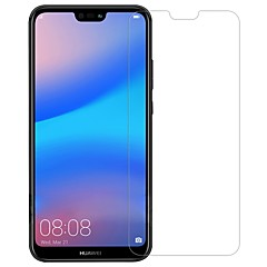 abordables Protectores de Pantalla para Huawei-Protector de pantalla Huawei para Huawei P20 lite Vidrio Templado 1 pieza Protector de Pantalla Frontal Anti-Huellas Anti-Arañazos A