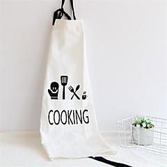 お買い得  キッチン清掃用品-高品質 1個 リネン/コットン エプロン 高品質, キッチン クリーニング用品