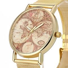 preiswerte Herrenuhren-JUBAOLI Herrn Armbanduhren für den Alltag Quartz Armbanduhren für den Alltag Cool Legierung Band Analog Gold - Gold