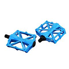 abordables Pedales-Pedales Ciclismo / Bicicleta Ciclismo Fibra de carbon / Aleación de aluminio / Aluminio Rojo / Verde / Azul