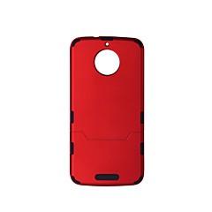 Недорогие Чехлы и кейсы для Motorola-Кейс для Назначение Motorola E4 E4 Plus Защита от удара Кейс на заднюю панель Сплошной цвет Твердый пластик для Moto G5s Moto E4 Plus