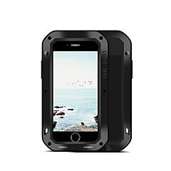 Недорогие Кейсы для iPhone-Кейс для Назначение Apple iPhone 8 iPhone 7 Вода / Грязь / Надежная защита от повреждений Чехол Сплошной цвет Твердый Металл для iPhone 8