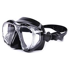 abordables Máscaras de Buceo-Máscara de esnórquel / Gafas de buceo Impermeable, Reflectante, Protector De dos ventanas - Natación, Buceo Silicona, Vidrio - para