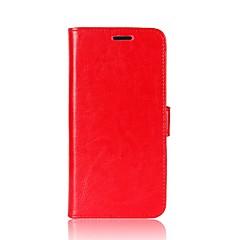 Недорогие Чехлы и кейсы для Xiaomi-Кейс для Назначение Xiaomi Mi 8 / Mi 8 SE Кошелек / Бумажник для карт / Флип Чехол Однотонный Твердый Кожа PU для Redmi Note 5A / Xiaomi Redmi Note 5 Pro / Xiaomi Redmi Примечание 5