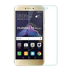 billige Skærmbeskyttelse til Huawei-Skærmbeskytter Huawei for P8 Lite (2017) Hærdet Glas 1 stk Skærmbeskyttelse Ridsnings-Sikker 2.5D bøjet kant 9H hårdhed High Definition
