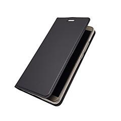 Недорогие Чехлы и кейсы для Huawei Mate-Кейс для Назначение Huawei Mate 10 Mate 10 pro Бумажник для карт Кошелек со стендом Флип Чехол Однотонный Твердый Кожа PU для Mate 10