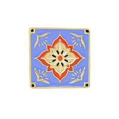 お買い得  ブローチ-女性用 フラワー ブローチ  -  ベーシック / ファッション 幾何学形 ホワイト / パープル / レッド ブローチ 用途 日常 / デート