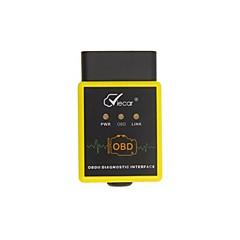 Недорогие OBD-Все модели 16pin Разъемы Male к Female OBD-II ELM327 Приложение для андроида Автомобильные диагностические сканеры