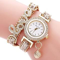 お買い得  メンズ腕時計-男性用 クォーツ 中国 クロノグラフ付き PU バンド ぜいたく / ボヘミアンスタイル ブラック / シルバー / グリーン
