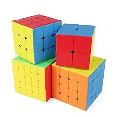 preiswerte Magischer Würfel-Zauberwürfel 1 Stück Shengshou D0934 Regenbogenwürfel 5*5*5 / 4*4*4 / 3*3*3 Glatte Geschwindigkeits-Würfel Magische Würfel Puzzle-Würfel